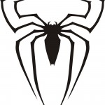 black spiderman logo
