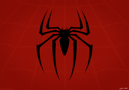 spiderman spider logo