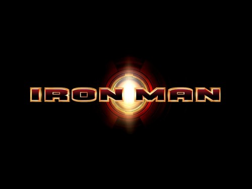 iron man logo wallpaper