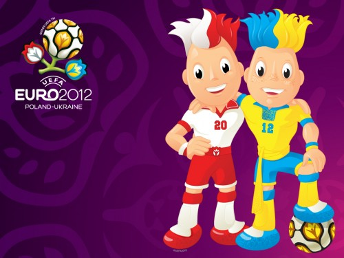euro 2012 logo wallpaper