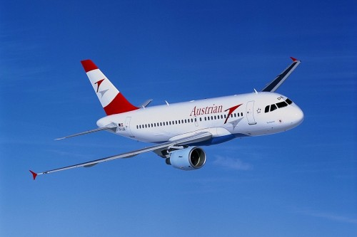 Austrian Airlines Airplane