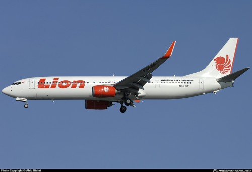 Lion Air Aircraft