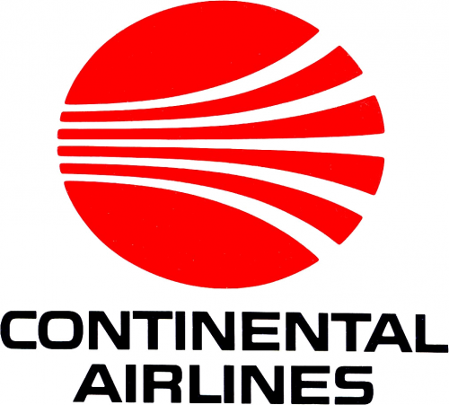Old Continental Airlines Logo