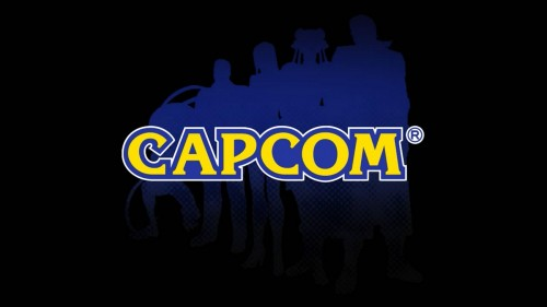 capcom logo black