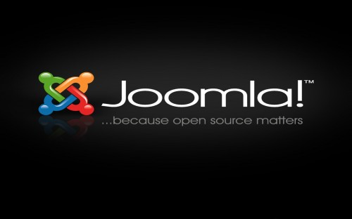 joomla logo wallpaper