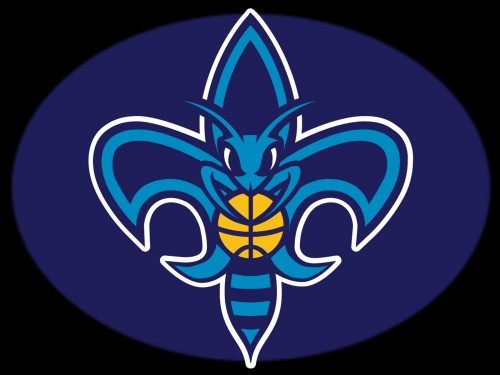 new orleans hornets logo black