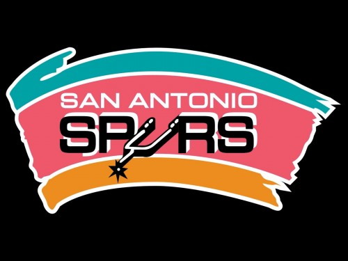 san antonio spurs logo black
