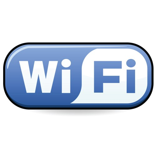 blue wifi logo