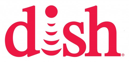 dish network logo red