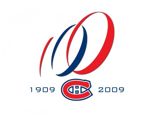 montreal canadiens logo 100