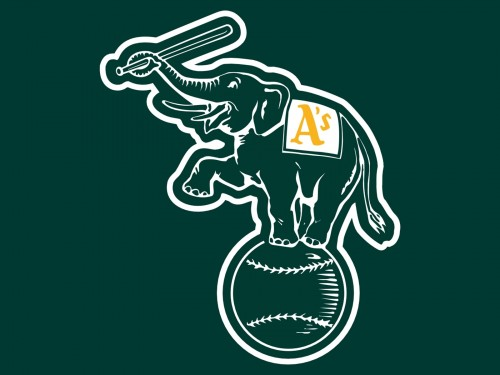 oakland athletics logo elephant