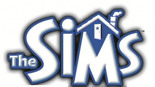 the sims logo wallpaper
