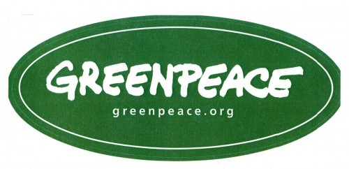 Greenpeace Logo Sticker