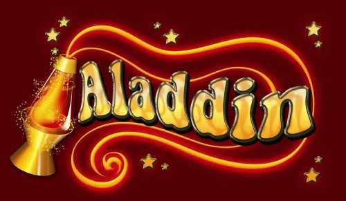 aladdin logo wallpaper