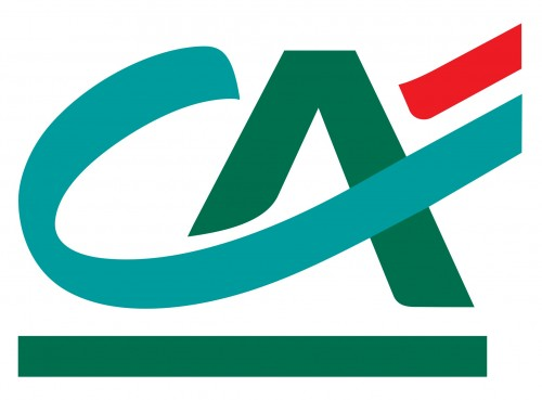 credit agricole logo wallpaper