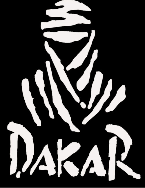 dakar rally logo black