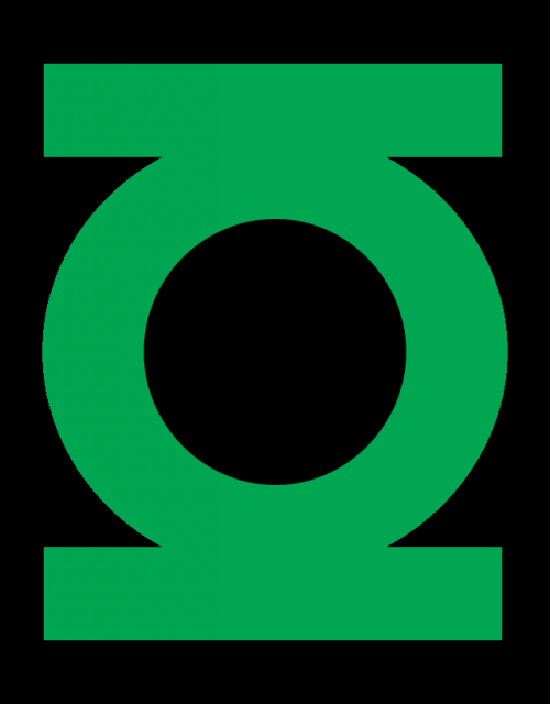 green lantern logo original