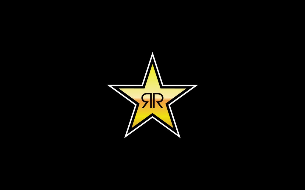 rockstar wallpaper black