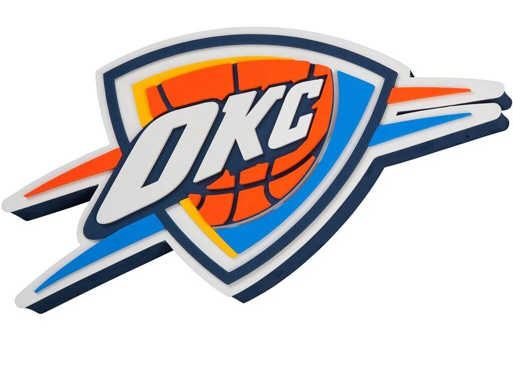 Oklahoma City Thunder team logo and wallpapers