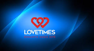 LOVETIMES RADIO in blue background